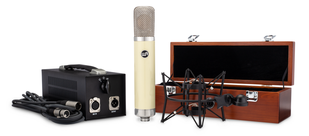 Warm Audio WA 251 Tube Condenser Microphone Matrix Pro Audio