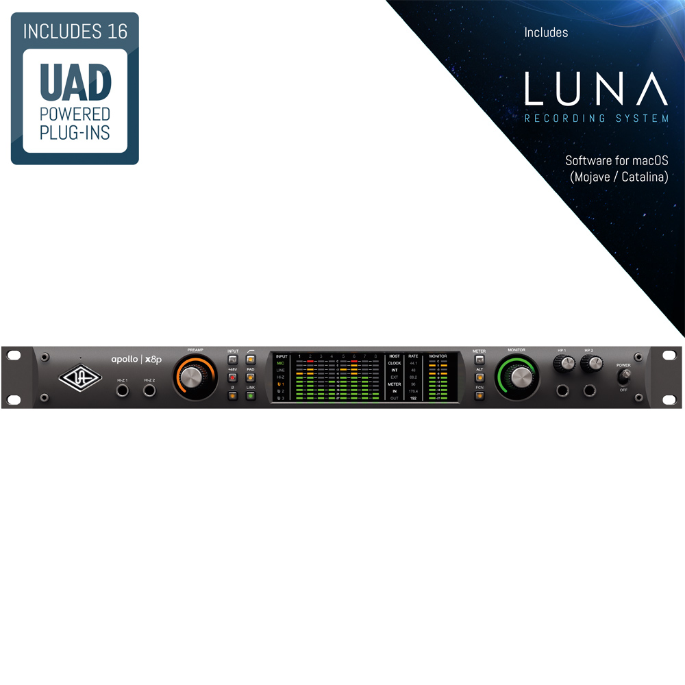 Universal Audio Apollo x8p Matrix Pro Audio